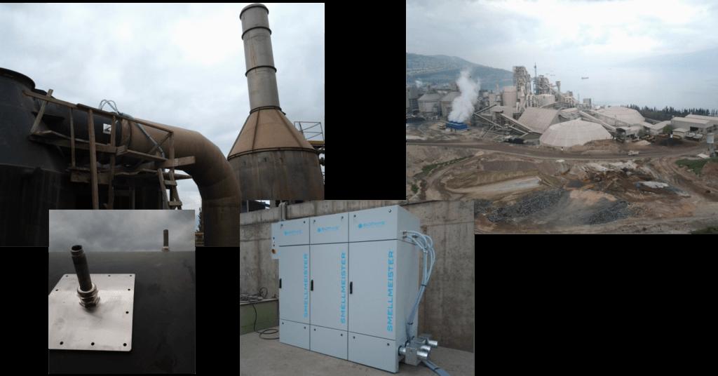 Chimney treatment- biothys neutralizing odor treatment